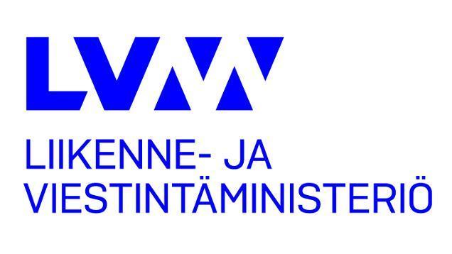 Liikenne- ja viestintäministeriö logo